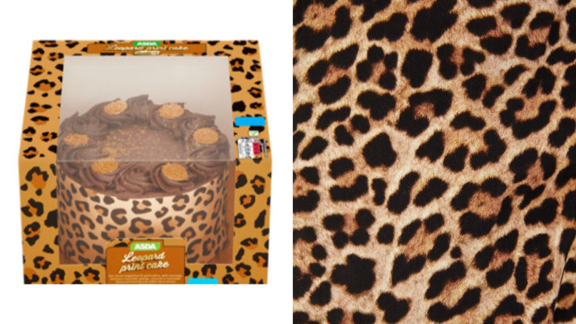 ASDA Is Selling A Gorgeous Leopard Print Cake And It's Fierce