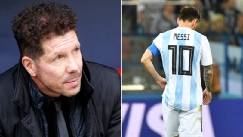 Diego Simeone's Leaked Rant About Lionel Messi Instantly Goes Viral