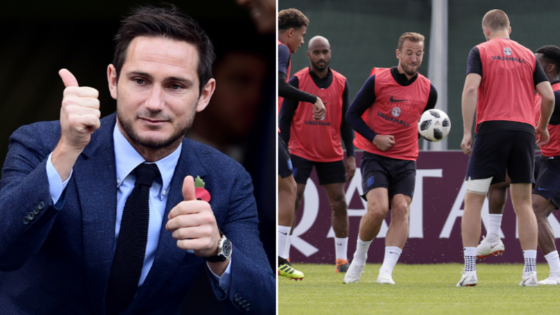Frank Lampard Picks His Starting XI For England's World Cup Opener