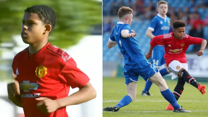 Shola Shoretire Makes Manchester United History Aged 14 Years, 10 Months And 10 Days