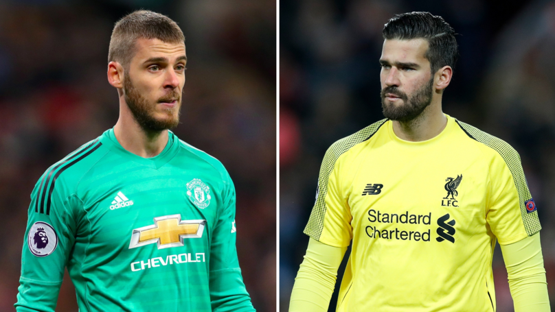 Alisson Has Equalled De Gea's Best Clean Sheet Record At Manchester United In A Season