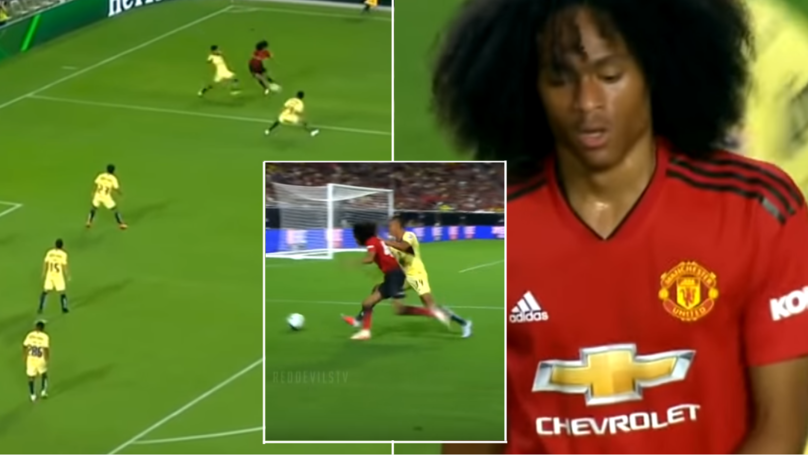 The Highlights Of Tahith Chong's First Team Debut Prove He's A Special Talent