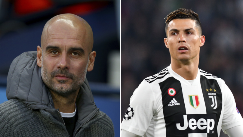 Cristiano Ronaldo 'Would Welcome' Manchester City Manager Pep Guardiola At Juventus