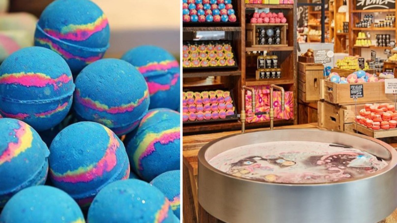 You Can Create Your Own Dreamy Bath Bombs At Lush