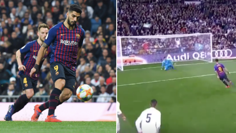 Luis Suarez Trolls Real Madrid With Filthy Panenka Penalty At The Bernabeu