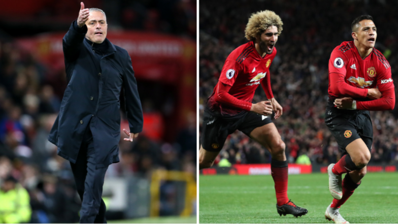 What Jose Mourinho Said To Manchester United Players At Half Time To Inspire Epic Comeback