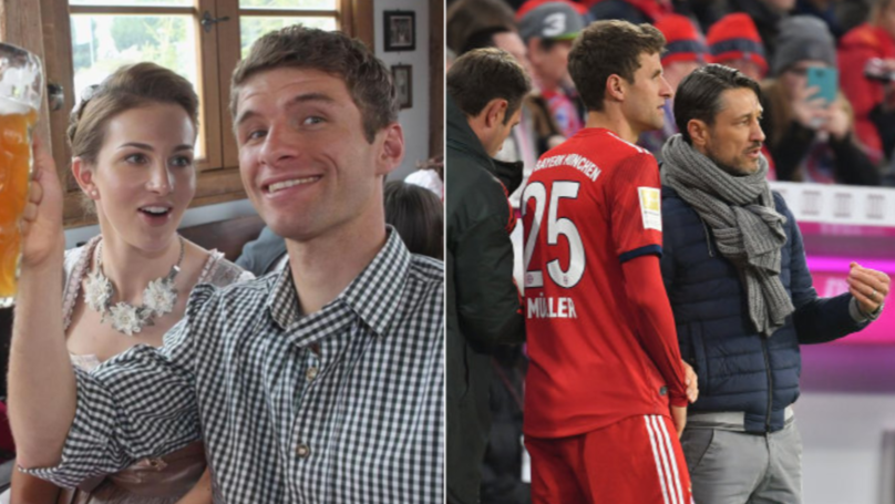 Thomas Muller's Wife Forced To Apologise To Bayern Munich Manager