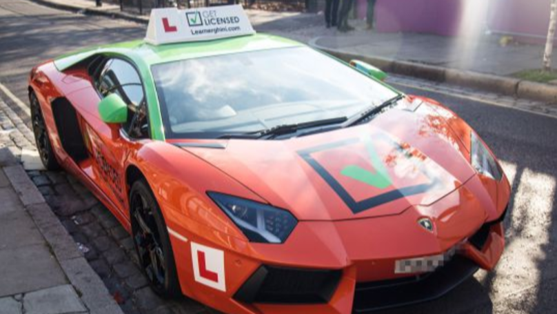 Lamborghini Learner Car Spotted In London - With Lessons Costing £20k