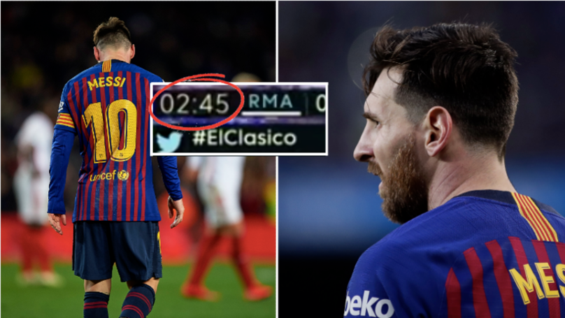 """Lionel Messi Ignores The Ball In The """"First Minutes"""" Of A Game"""