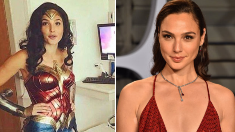 Gal Gadot Visits Children Hospital In Full Wonder Woman Costume