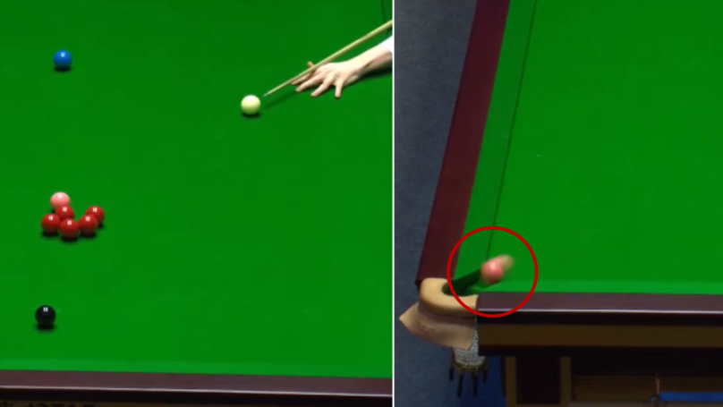 The 'Unbelievable' Snooker Trick Shot Involving Pink Ball Has Left People Stunned
