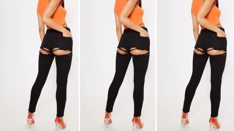 Everyone Is Confused By These 'Bum Rip' Jeans From Pretty Little Thing