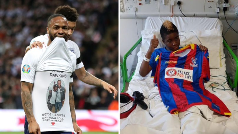 Raheem Sterling Plans To Cover The Costs Of Damary Dawkins' Funeral