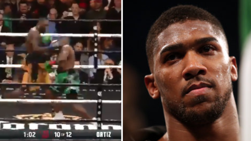Deontay Wilder KO's Luis Ortiz, Sends A Chilling Message To Anthony Joshua