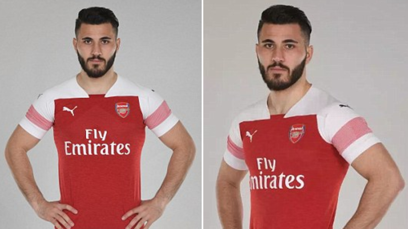 Arsenal Unveil New Kit, Fans Immediately Spot Sead Kolasinac's Hilarious Mistake