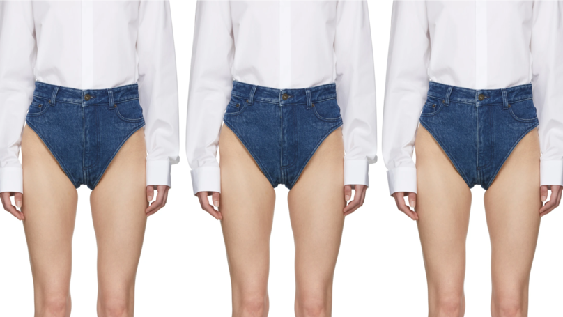 This Brand Is Selling Denim Panties For A Whopping £235