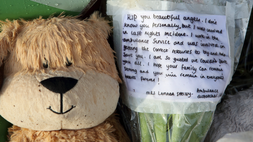 Ambulance Worker Pens Heartbreaking Letter For Four Children Who Died In House Fire