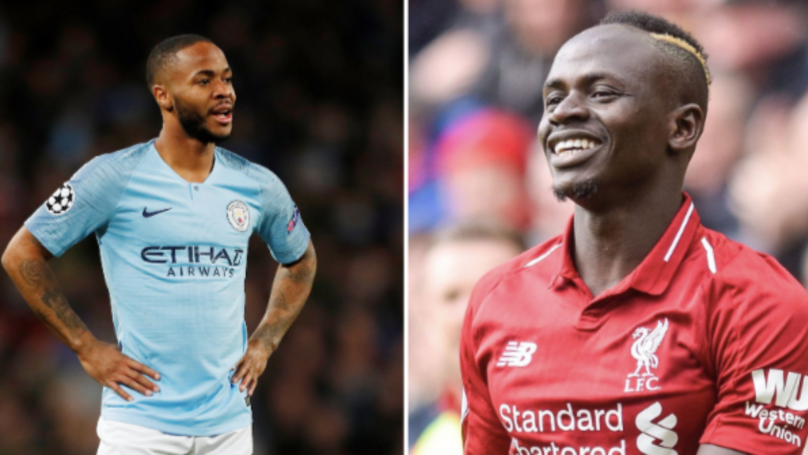 Sadio Mane Edges Out Raheem Sterling In Man City And Liverpool Combined XI
