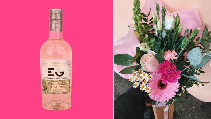 You Can Now Get Gin Flower Bouquets In Time For Valentine's Day
