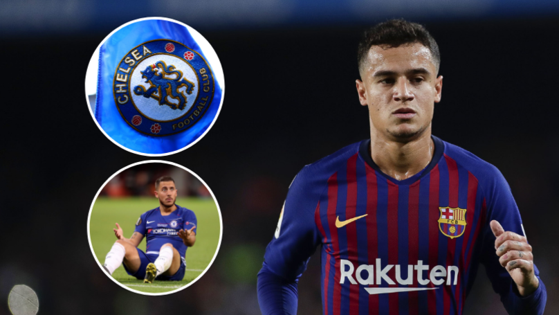 Chelsea Want Philippe Coutinho To Replace Eden Hazard, If Transfer Ban Is Lifted