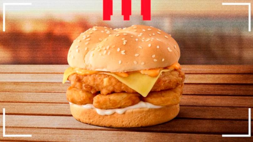 KFC Launches Secret Chicken Nugget Burger
