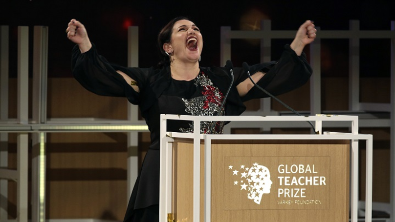 London Woman Crowned World's Best Teacher, Scoops £1m Prize