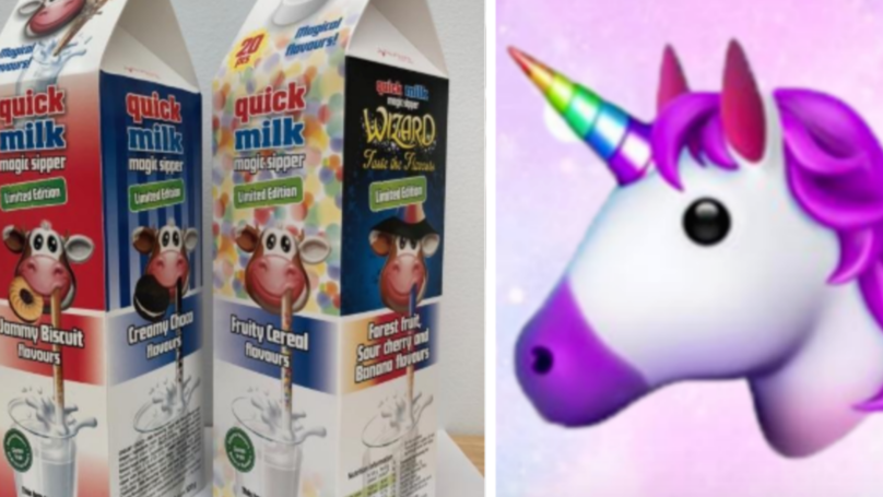 ​B&M Is Selling Straws That Turn Your Milk Into Unicorn Flavours