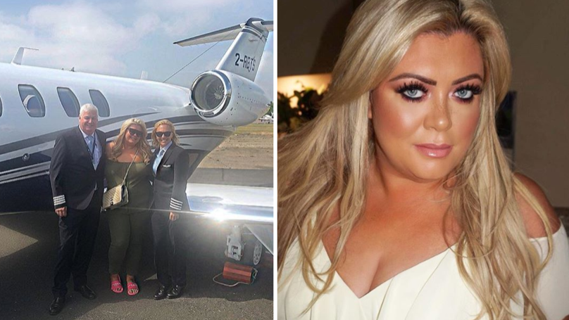 Gemma Collins Rinsed On Twitter For 'Boasting' About Flying On A Private Jet