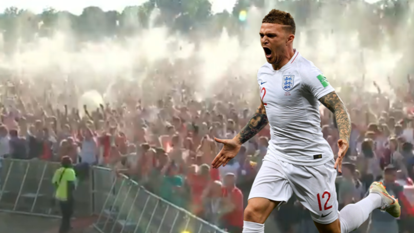 Remembering When Kieran Trippier Scored 'That' Free-Kick vs Croatia At 7:05pm On July 11th