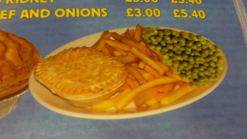 This Photo Of Upside Down Peas Is Messing With People's Heads