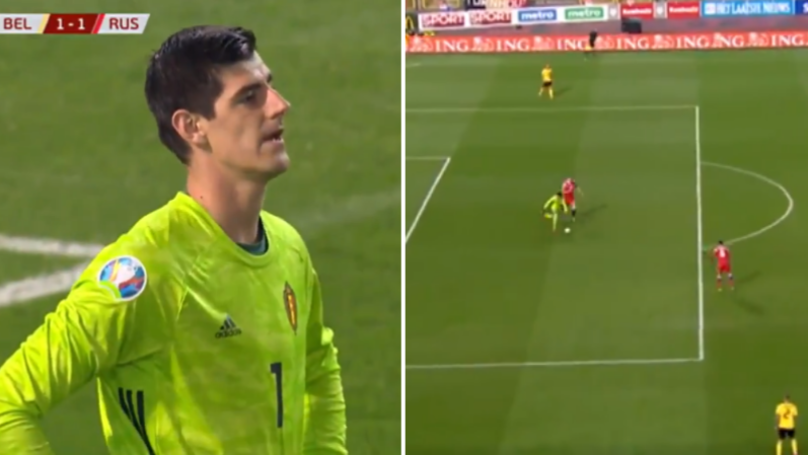 Thibaut Courtois Made A Huge Mistake For Belgium Against Russia