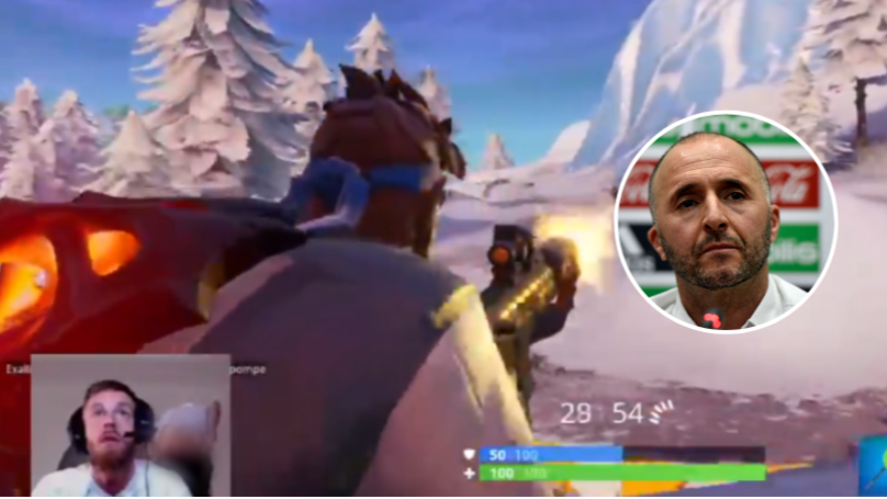 Algeria's Haris Belkebla Kicked Out Of AFCON Squad After Showing Ass On Fortnite Live Stream