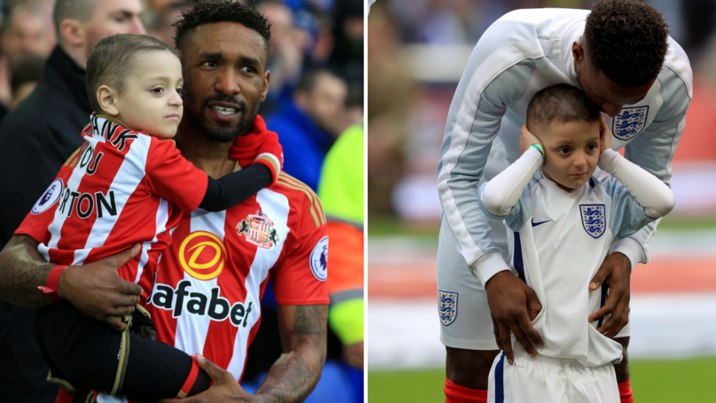 Defoe Sends Wonderful Message To Bradley Lowery On What Would've Been His Seventh Birthday