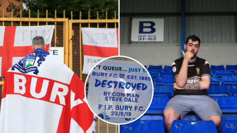 Bury FC Have Been Expelled From The EFL thumbnail