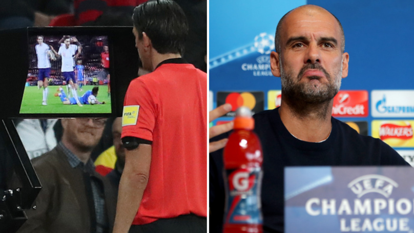Pep Guardiola Blames Two Premier League Clubs For No VAR Next Season