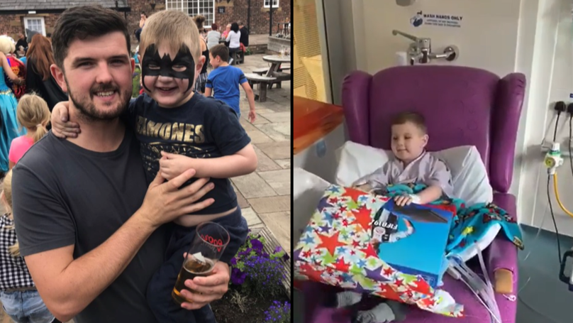 Dad's Pals Club Together To Buy Boy PS4 After Heart Op