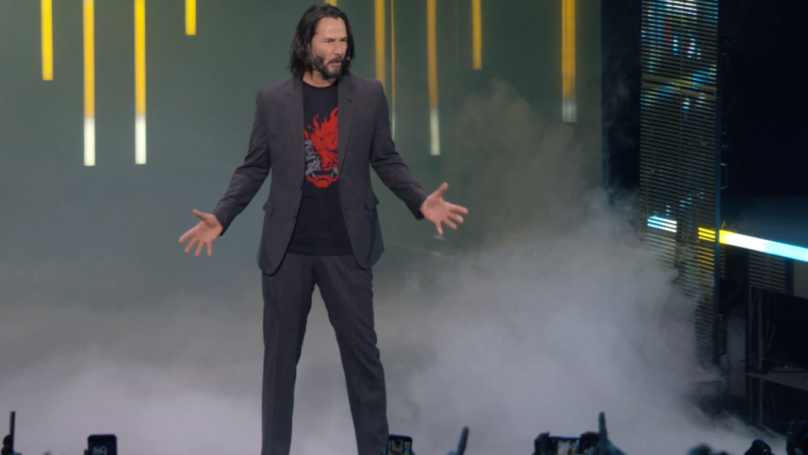 Keanu Reeves Might Be Recording Music for 'Cyberpunk 2077'