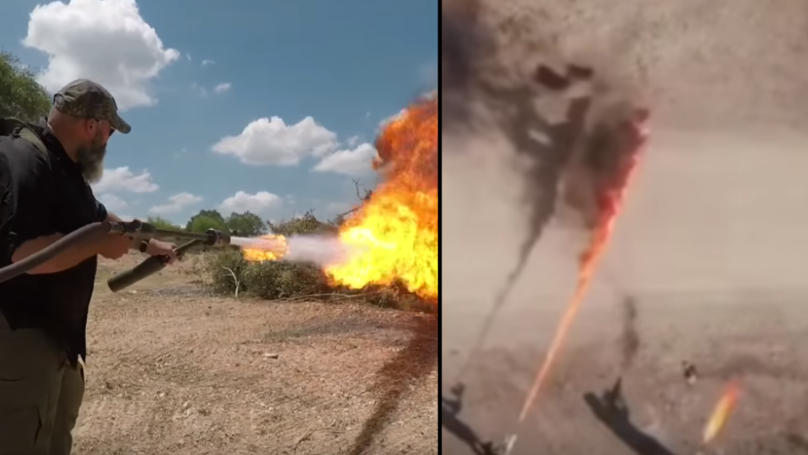 Elon Musk's 'Not A Flamethrower' Put To The Test Against Real Flamethrower