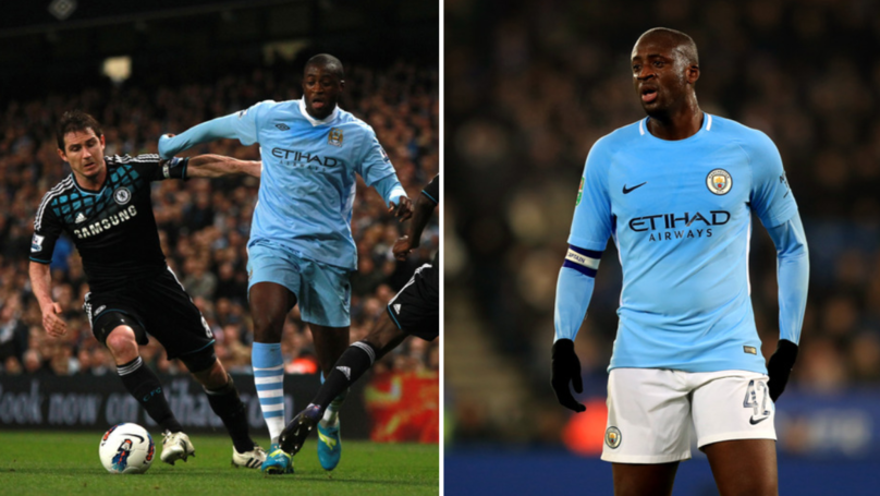 Frank Lampard Ranks Yaya Toure In Top 5 Midfield Opponents
