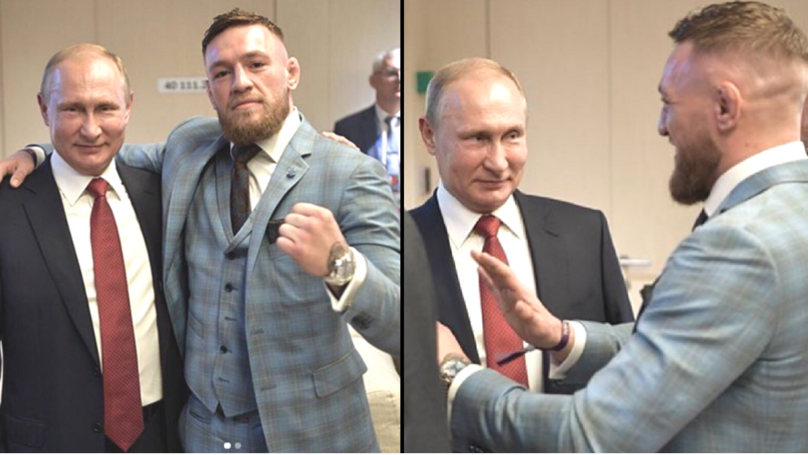 ​Conor McGregor Says Putin Invited Him To World Cup And Refers To Him As 'One Of The Greatest Leaders'