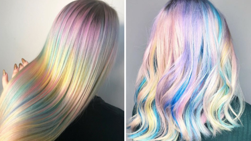 Kaleidoscope Hair Is The Prettiest Thing You'll See All Day