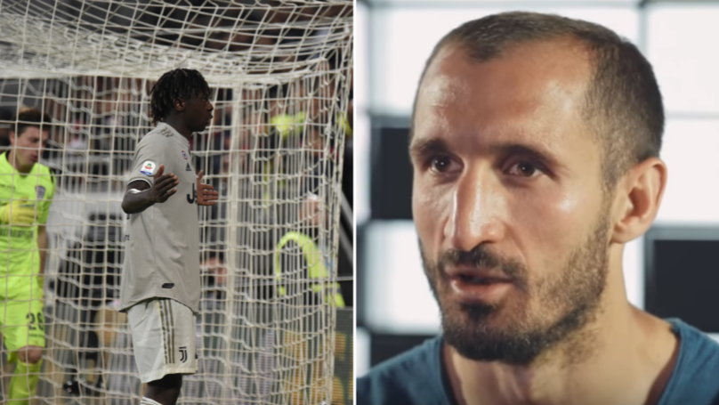Juventus Captain Giorgio Chiellini Defends Moise Kean Over Goal Celebration