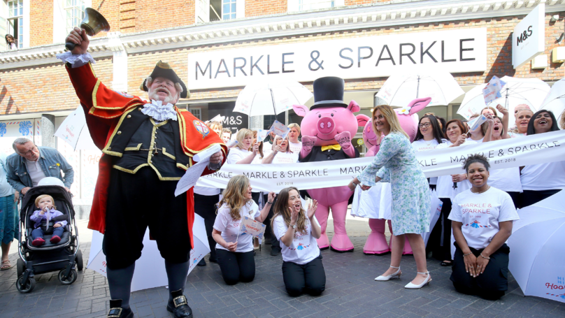 Marks & Spencer Changes Name To Markle & Sparkle To Celebrate The Royal Wedding