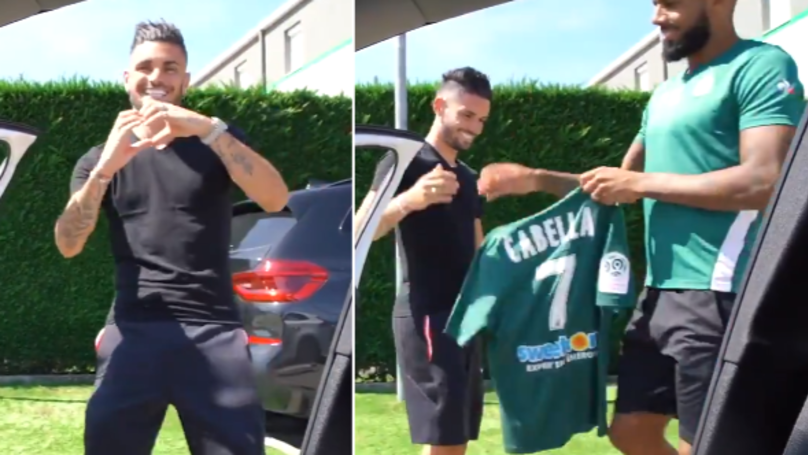 AS Saint-Etienne Announce The Signing Of Remy Cabella With 'Kiki Challenge'