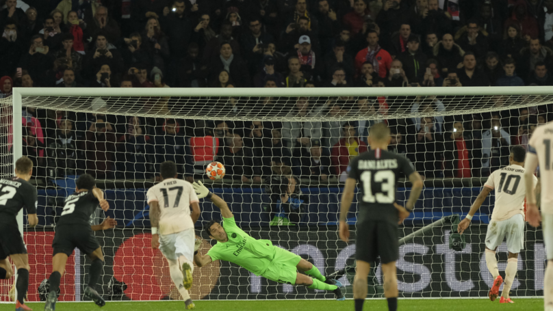 Marcus Rashford's Penalty Vs PSG With Titanic Music Is An Oscar-Worthy Moment