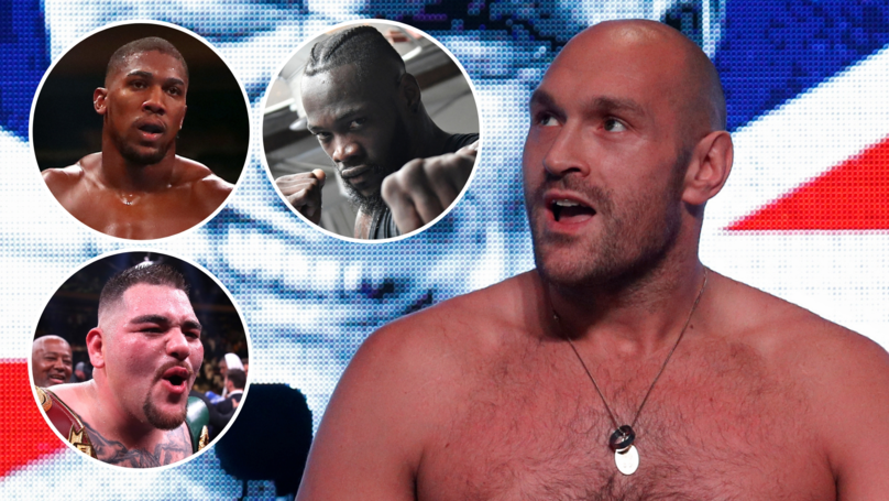 Tyson Fury Voted The Best Heavyweight Currently In World Boxing
