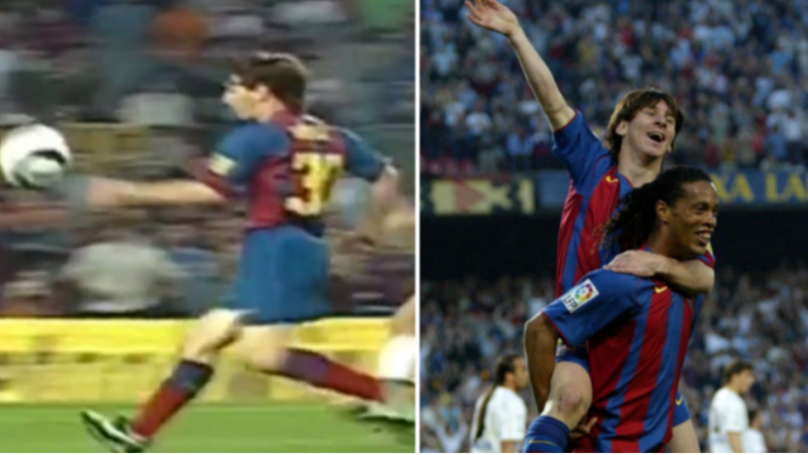 Lionel Messi Scored His First Barcelona Goal 14 Years Ago Today