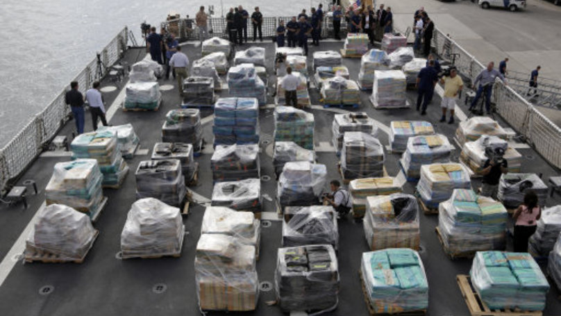 Here's What Over 26 Tonnes Of Cocaine Looks Like