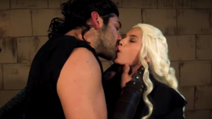 The Trailer For This 'Game Of Thrones' Porn Parody Will Have You Howling