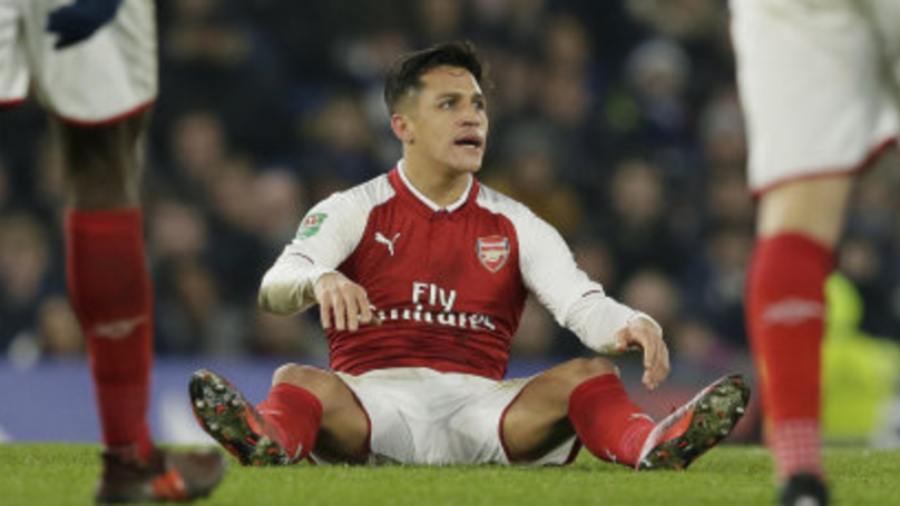 Alexis Sanchez's Last Arsenal Training Session Did Not End Well